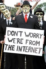 Don't worry! We're from the Internet