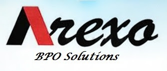 Logo from the scammer Arexo BPO Solutions
