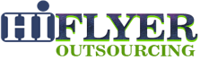 Logo from the scammer HiFlyer Outsourcing